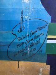 Oscar Thomas Domino Park Mural