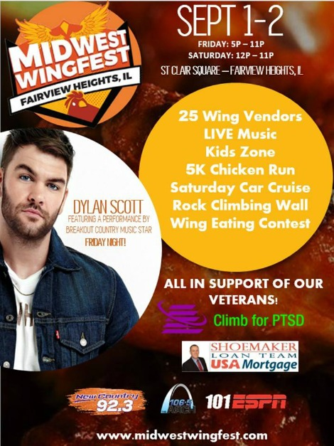 Midwest Wingfest 9-1, 9-2-17