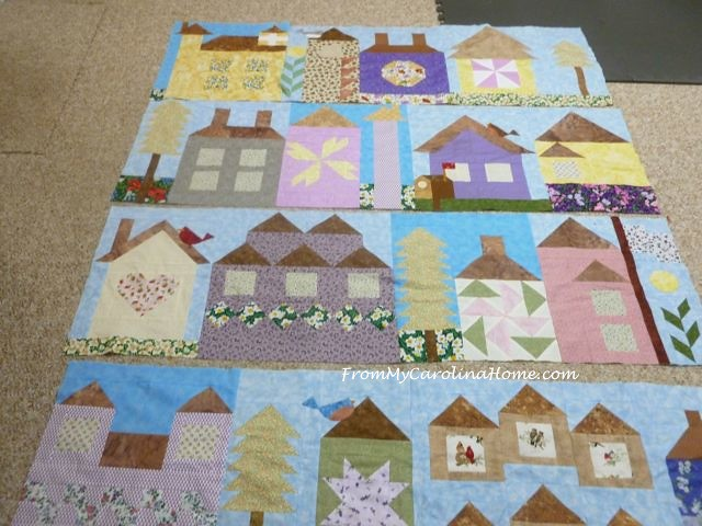 Be My Neighbor Quilt Layout