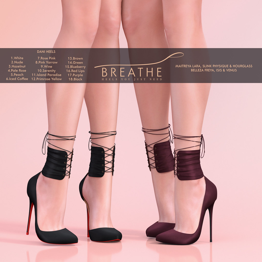 [BREATHE]-Dani Heels - SecondLifeHub.com