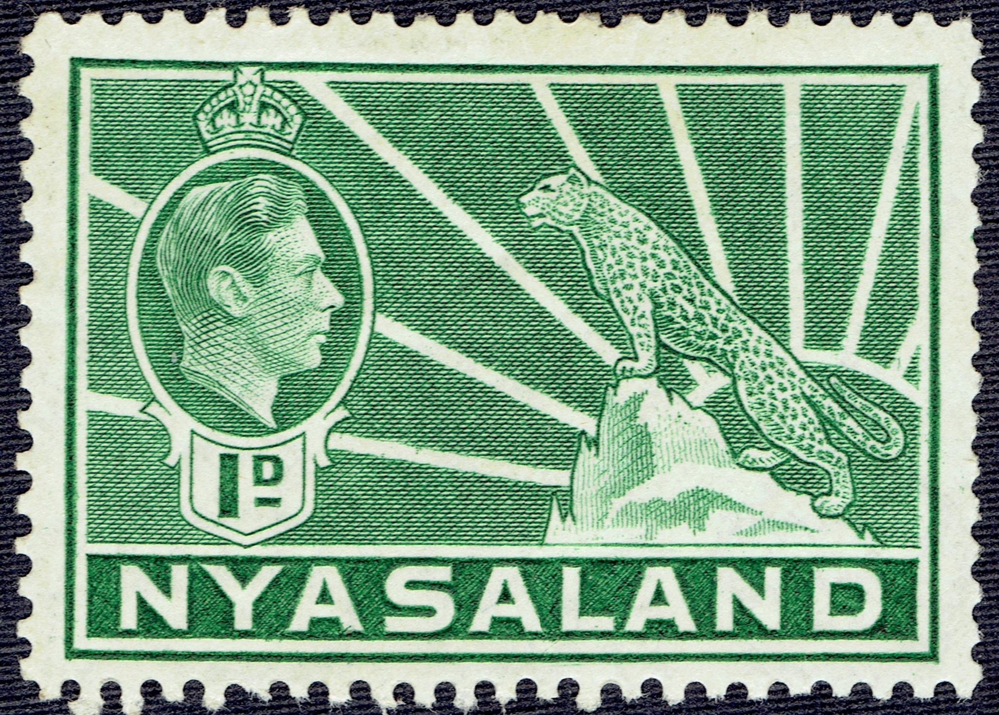 Nyasaland #55A (1942)