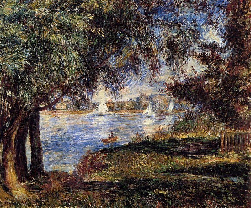 Bougival by Pierre Auguste Renoir, 1888