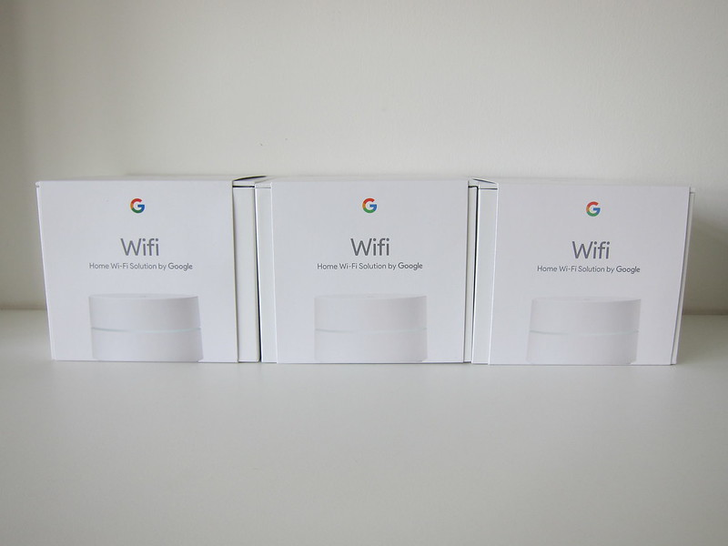 Google Wifi - Three Individual Units