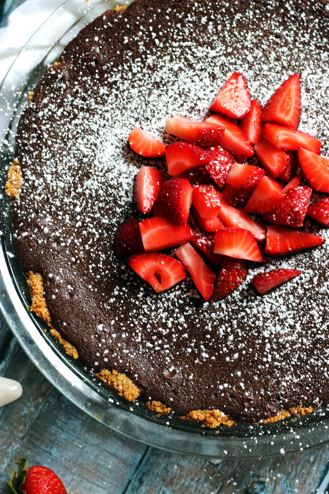 The Fudgiest Brownie Pie