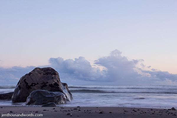 Dusk at the beach 09