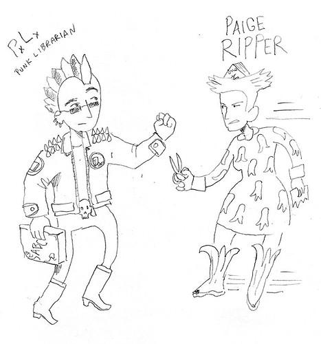 Punk Librarian