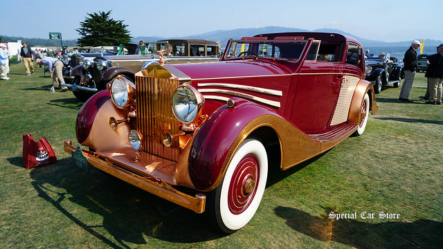 1937 Rolls-Royce Phantom III Freestone & Webb Sedanca de Ville