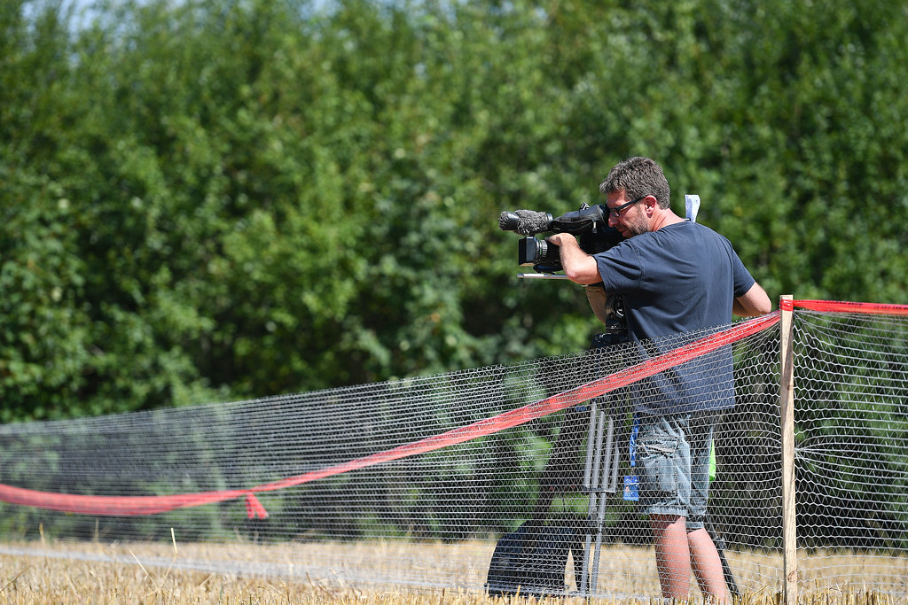 Eurosport cameraman during the 2017 European Rally Championship Rally Rzeszowski in Poland from August 4 to 6 - Photo Wilfried Marcon / DPPI