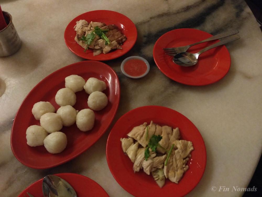 chicken rice ball melaka