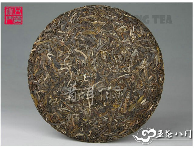 Free Shipping 2012 ChenSheng Beeng Cake Bing ShengYun 357g YunNan MengHai Organic Pu'er Raw Tea Sheng Cha Weight Loss Slim Beauty