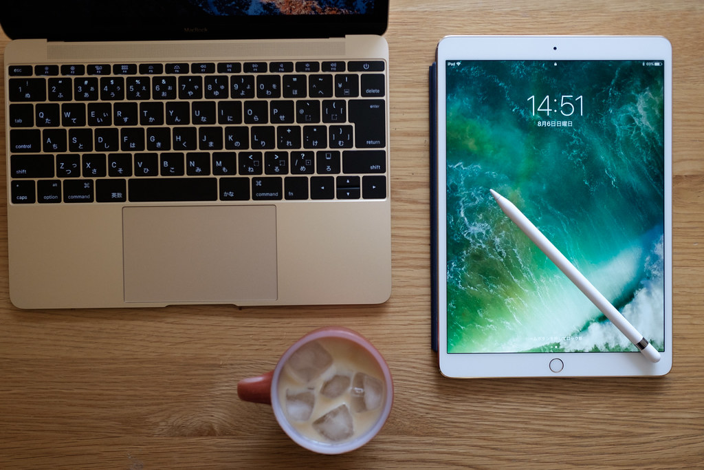 iPad ProとApple Pencil 2017/08/06 X7008829