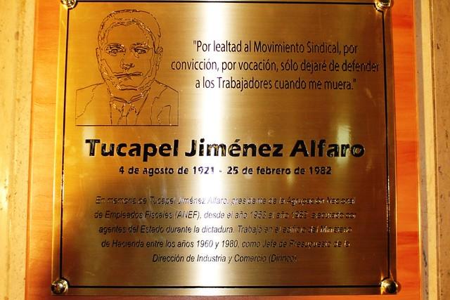 Placa Homenaje en Hacienda a Tucapel Jiménez (15-09-2017)