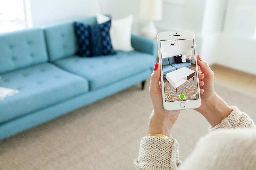 Houzz App Gets 3D Upgrade with Apple ARKit