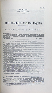 1. 1891 Seacliff Inquiry: Charges