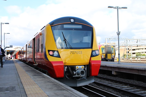South West Trains 707003, Reading
