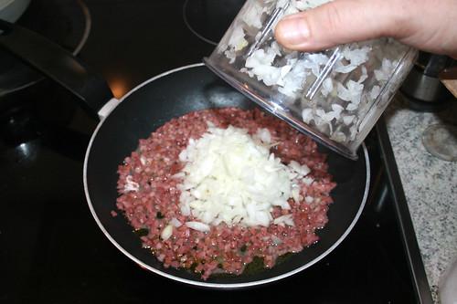 24 - Zwiebel addieren / Add onion