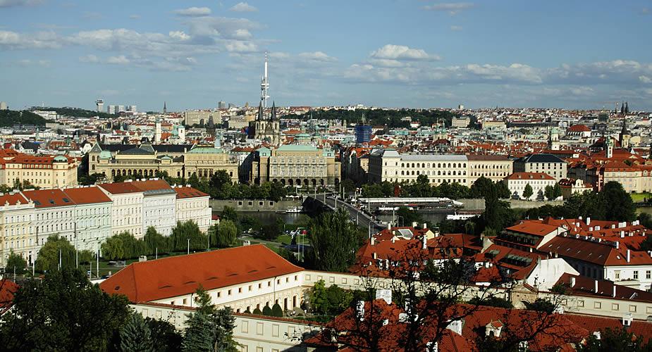 Fietsen in Praag: het mooiste uitzicht over Praag | Mooistestedentrips.nl
