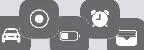 iOS11 controlcenter コントロールセンター 画面録画 緑のボタン モバイルデータ通信