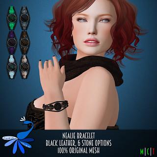 ZcZ Nealie Bracelet - black