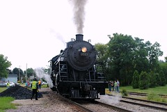 Soo Line steam locomotive - Milton Wisconsin