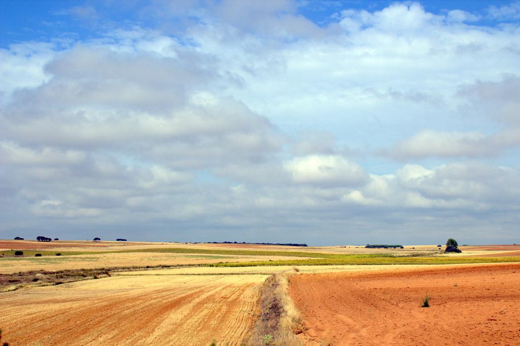 Sobre la marcha: tierras de Castilla