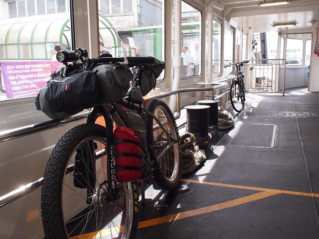 NCN2 Trip - Gosport Ferry