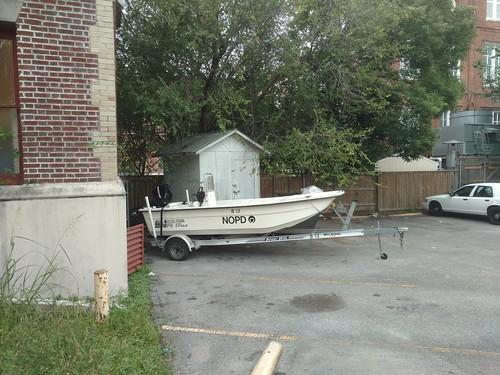 NOPD Boat