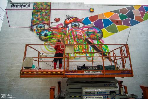 Bushwick Collective Work in progress