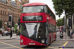 Wrightbus NRM NBFL - LTZ 1013 - LT13 - Victoria 390 - Metroline - London 2017 - Steven Gray - IMG_1252