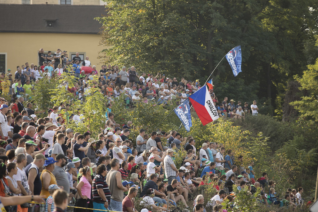 public Ambiance during the 2017 European Rally Championship ERC Barum rally,  from August 25 to 27, at Zlin, Czech Republic - Photo Gregory Lenormand / DPPI