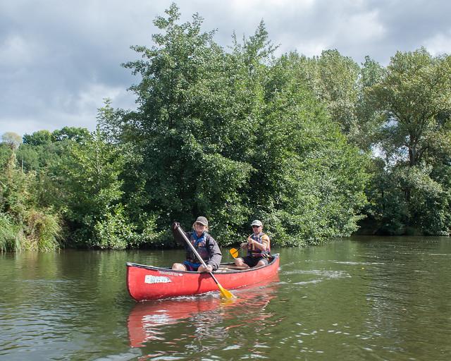 8 Day Allier Canoe Tour, September 2017