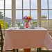 Rita Crane Photography: Table for Two on a Quiet Misty Morning, MacCallum House Inn, Mendocino by Rita Crane Photography