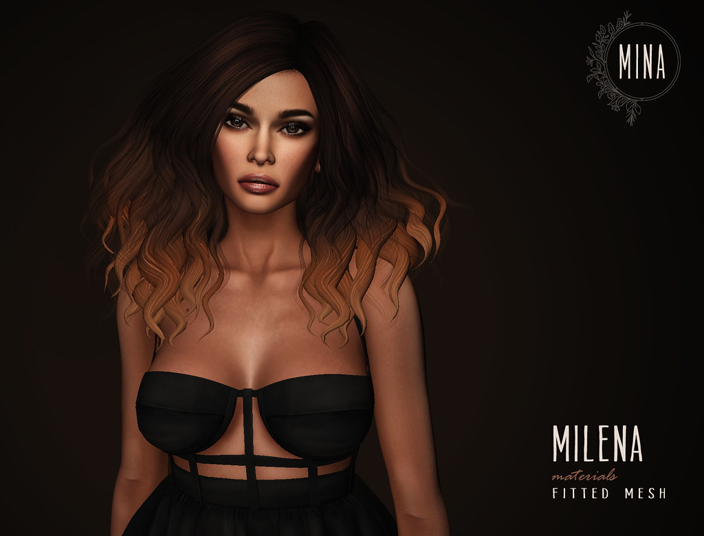 MINA Hair - Milena for FaMESHed - SecondLifeHub.com