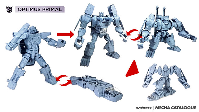 TRANSFORMERS Power of the Primes - OPTIMUS PRIMAL / OPTIMAL OPTIMUS