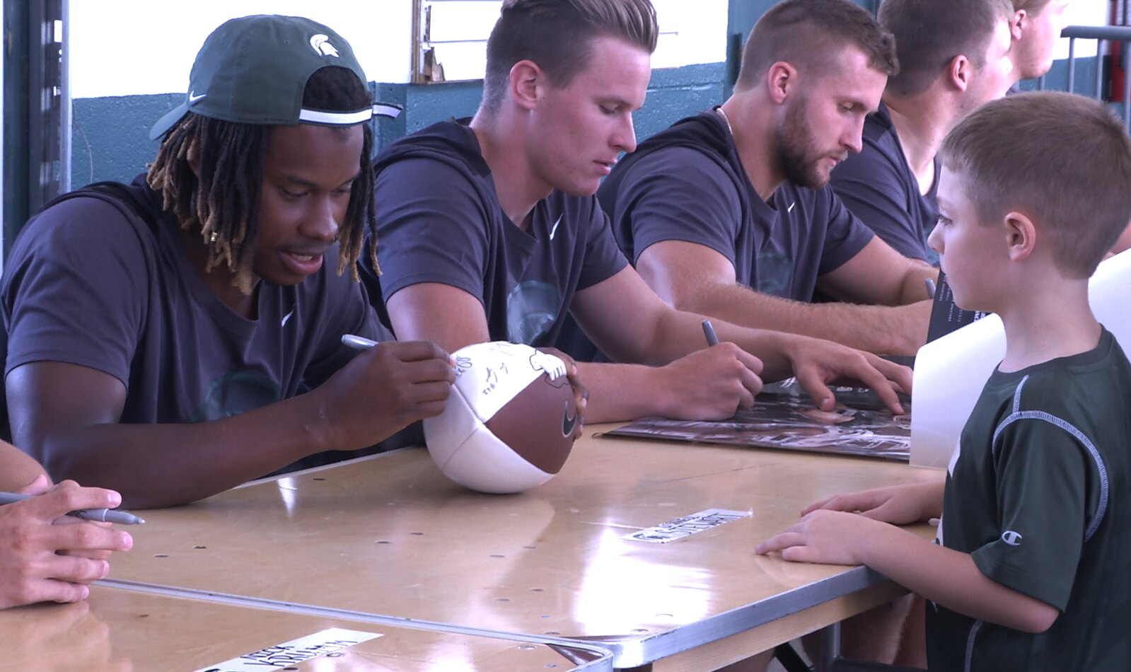 Meet The Spartans Event Gets Fans Face To Face With Coach and Players