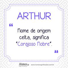 Significado do nome Arthur