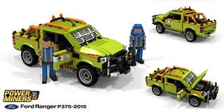 PowerMiners - Ford Ranger Mining Pickup (P375ICA - 2015)