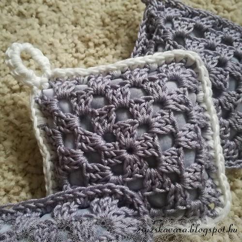 crochet, lavender, sachet, levendulapárna (4)