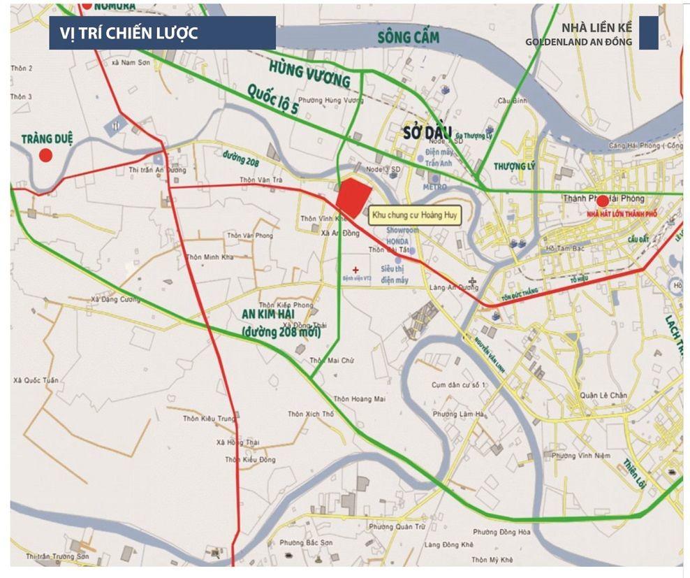 """Vị trí dự án Golden Land Hải Phòng  <img src=""""images/"""" width="""""""" height="""""""" alt=""""Công ty Bất Động Sản Tanlong Land"""">"""