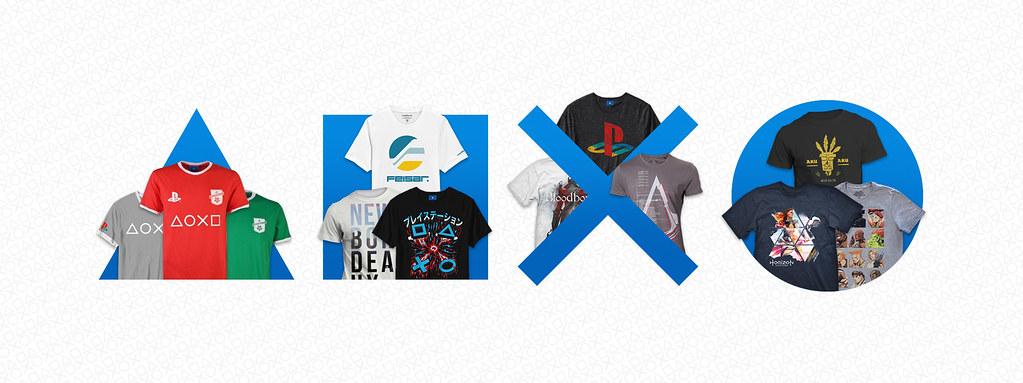 Exclusive t-shirt range image
