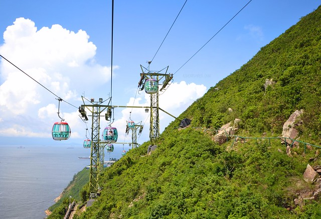 hong kong and macau itinerary travel guide ocean park cable car