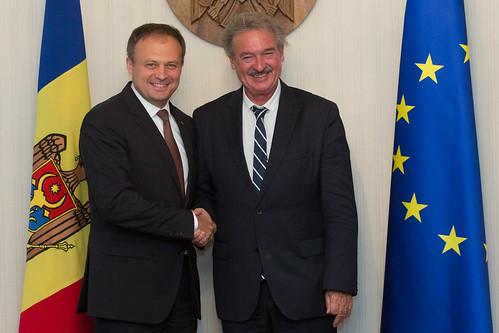 întrevedere cu ministrul Afacerilor Externe şi Europene al Marelui Ducat de Luxemburg 11.09.2017