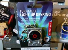 DJ turntable key ring
