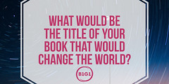 23 Your Book That Changes the World
