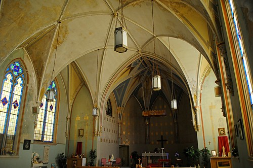 Abandoned St. Ambrose Church - St. Nazianz, Wisconsin