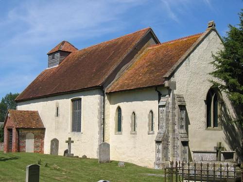 st marys church in tufton
