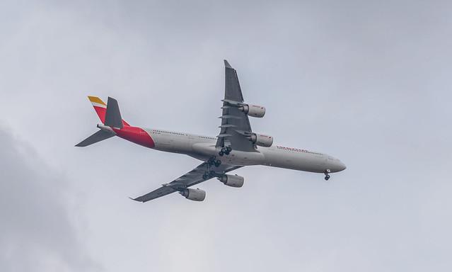 Iberia A346 (MEX)