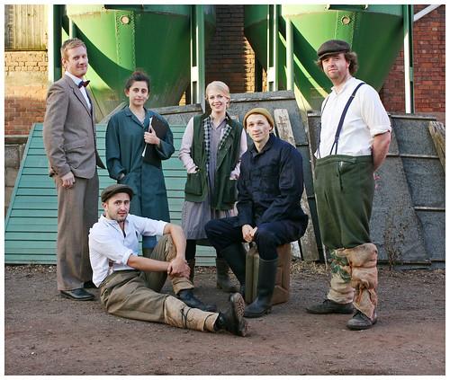 HARVEST - cast on location