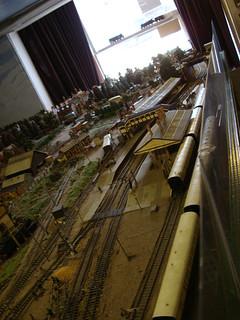 Model railway in Stratford-Upon-Avon
