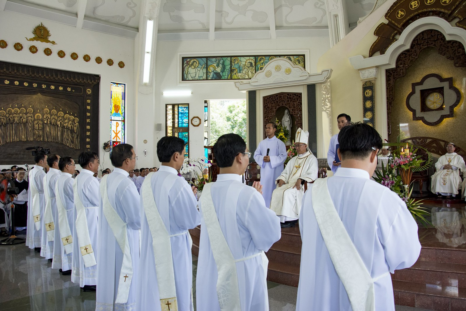Đan Viện Thánh Mẫu Phước Sơn : Thánh Lễ Truyền Chức Linh Mục - Ảnh minh hoạ 7